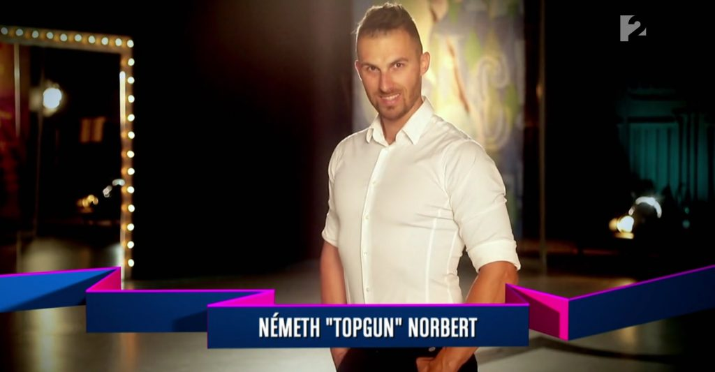 Németh Topgun Norbert a TV2 csak show és más semmi műsorában Baronits Gáborral és Pápai Jocival